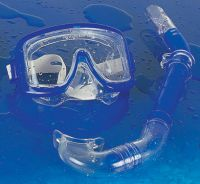 advanced mask and snorkel set
