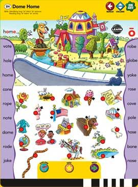 GeoSafari Phonics Pad Long Vowels
