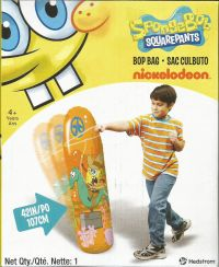 spongebob bop bag