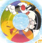 Tweety and Sylvester Swim Ring